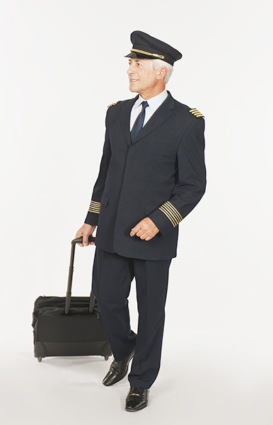M63, flight officer, captain, flight bagage, Bavaria Studios, Germany